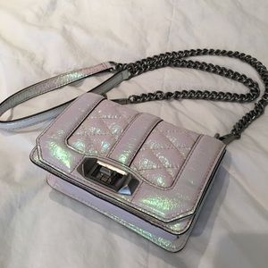 Rebecca Minkoff holographic crossbody bag